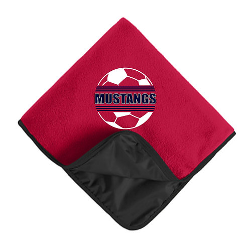 CCHS Soccer Travel Blanket