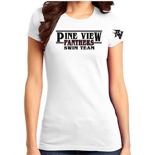 PVHS Swim Team Ladies Shirt
