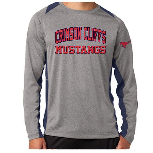 Crimson Middle Contender Long Sleeve Shirt