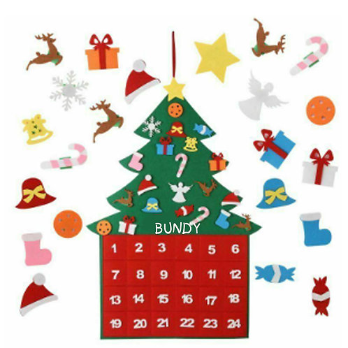 Christmas Large Felt Advent Calendar