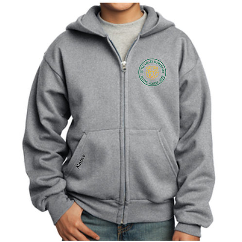 Little Valley Zip Up Hoodie (Youth & Adult)