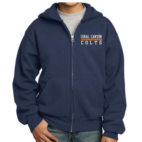 Coral Canyon Zip Up Hoodie (Youth & Adult)