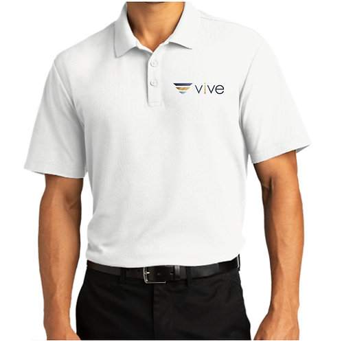 Vive City Super Pro White Polo