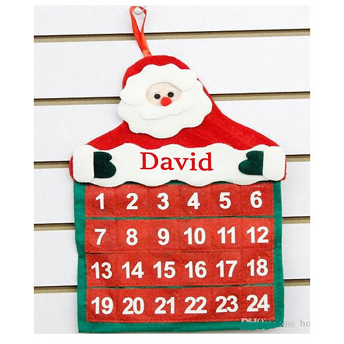 Christmas Individual Advent Calendar