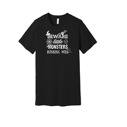 "Halloween ""Beware-Little Monsters"" T-Shirt"
