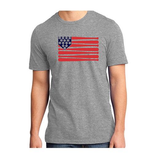 Washington Baseball Flag Shirt