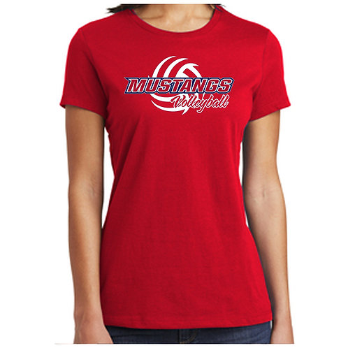 CCHS Volleyball Ladies Soft Cotton Relaxed Shirt