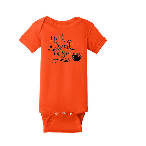"Halloween ""I Put a Spell on You"" Onesie/Toddler T"