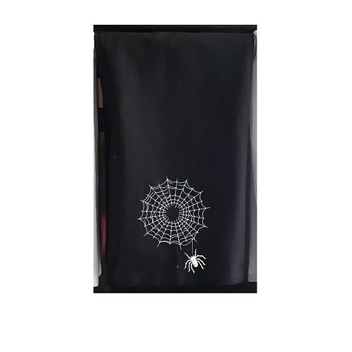 Halloween Black Kitchen Towels White design