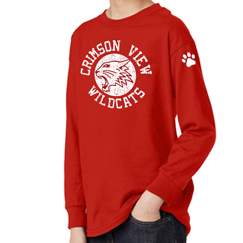 Crimson View Long Sleeve T (Youth & Adult)