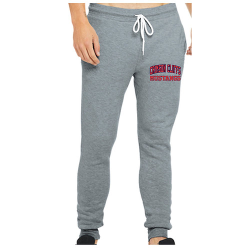Crimson Middle Bella+Canvas ® Unisex Jogger Sweatpants