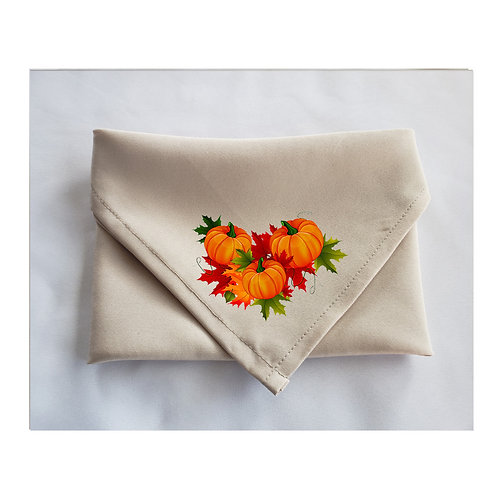 Thanksgiving Beige Napkins Cute Designs