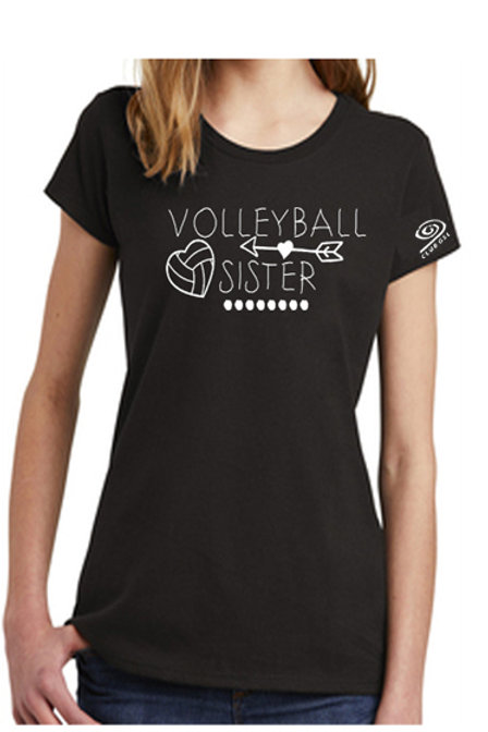 Volleyball Sister short sleeve