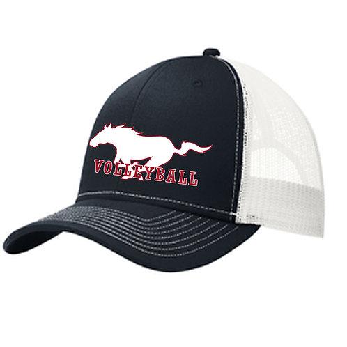 CCHS Volleyball Snap Back Trucker Hat