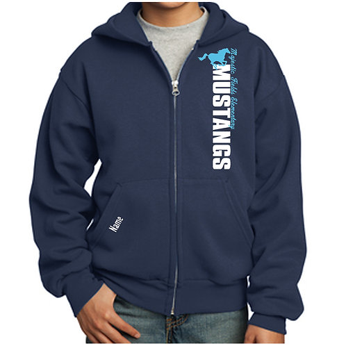 Majestic Fields Zip up Hoodie (Youth & Adult)