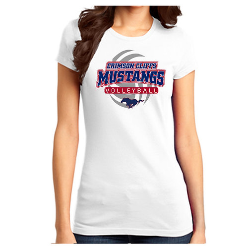 CCHS Volleyball Ladies Shirt