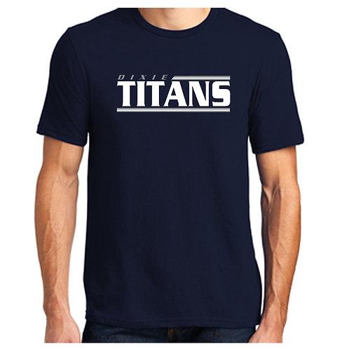 Titans Lines Design Tee