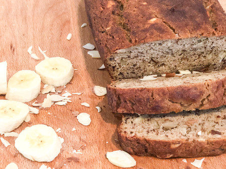 PAN DE BANANO SALUDABLE / BANANA BREAD