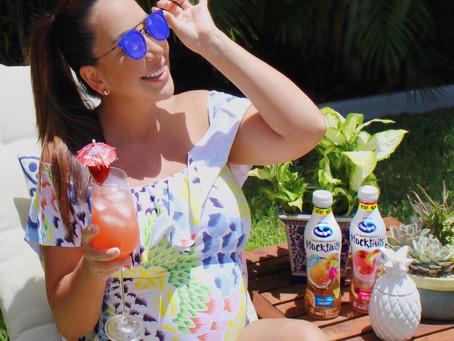 Disfrutando del verano con un Mocktail ? apto para Mamás!