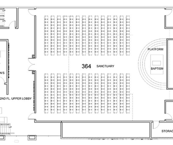 Sanctuary Church 2nd Floor Plan