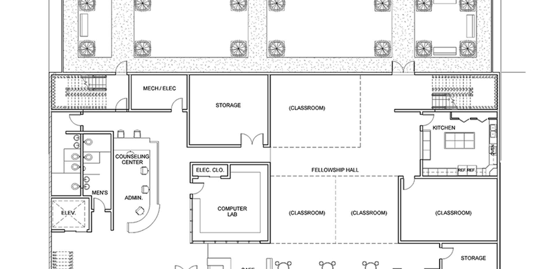 Sanctuary Church 1st Floor Plan