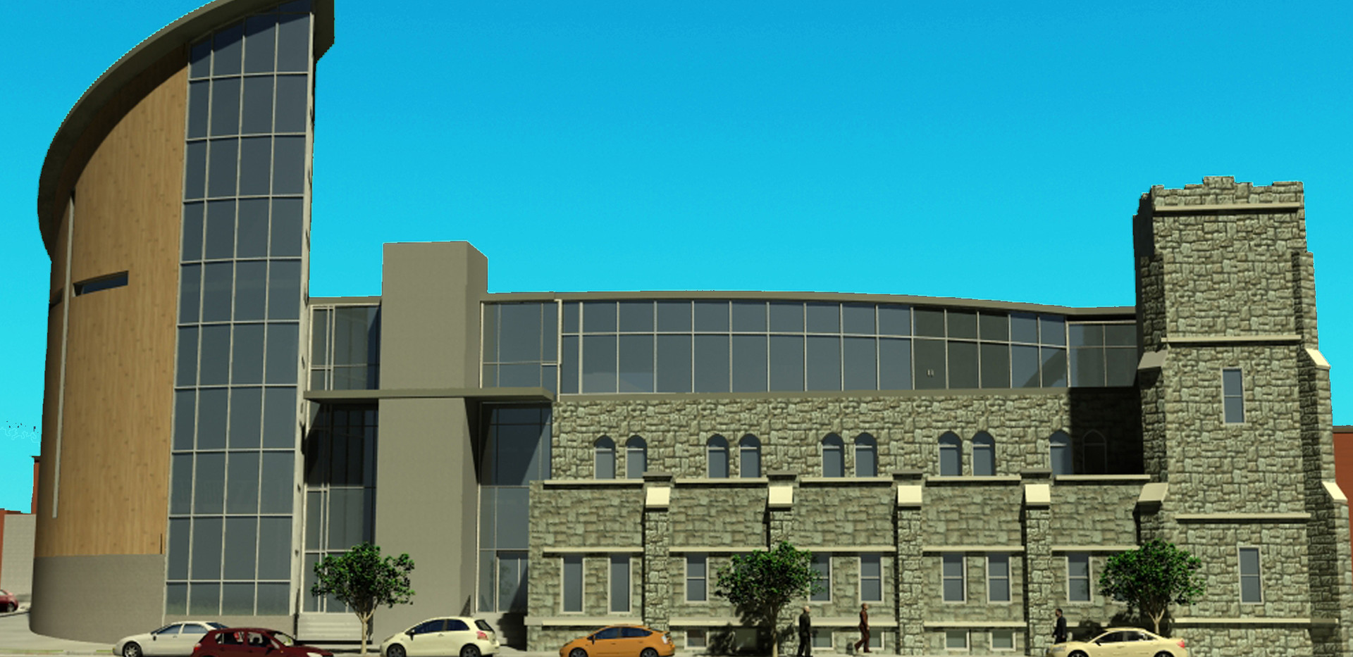 Zion Baptist Church - South Rendering