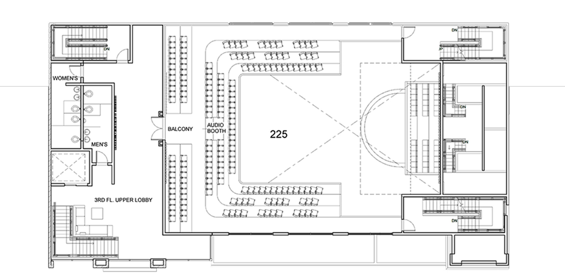 Sanctuary Church 3rd Floor Plan