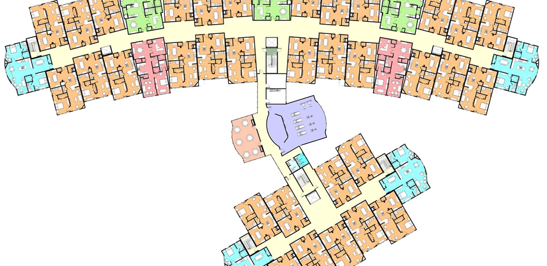 Henson Forrest Condos Typical Floor Plan