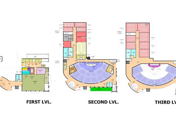 Zion Baptist Church Expansion -  Floor Plans