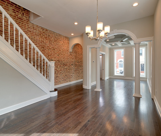 3020 E. Baltimore St. - Living Room