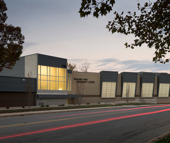 Palmer Park Community Center Exterior