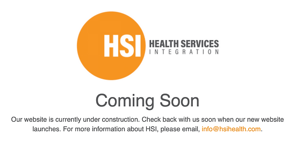 hsihealth OLD static homepage.png