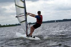 Windsurfen und Kitesurfing