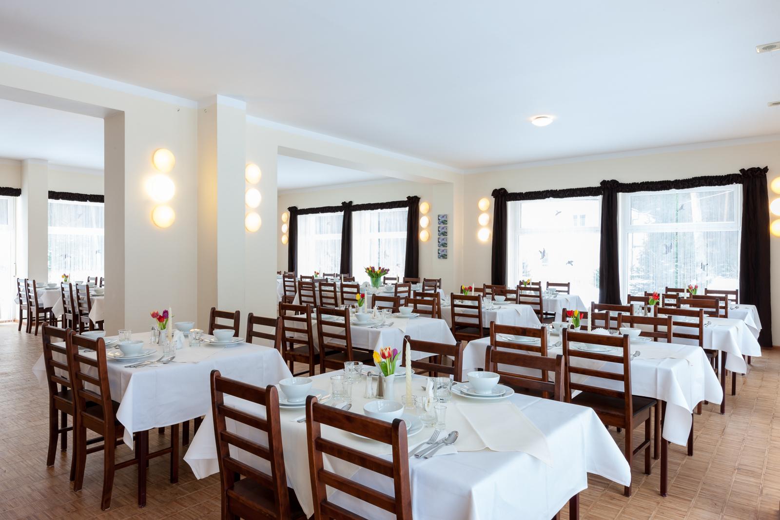 Esssaal für Gäste