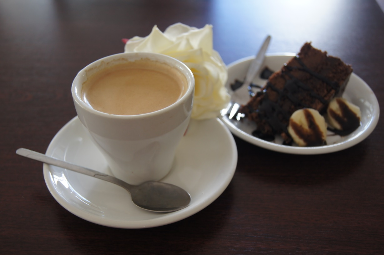 Coffee and tasty cakes