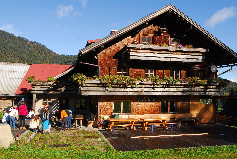 Seminarhütte im Allgäu