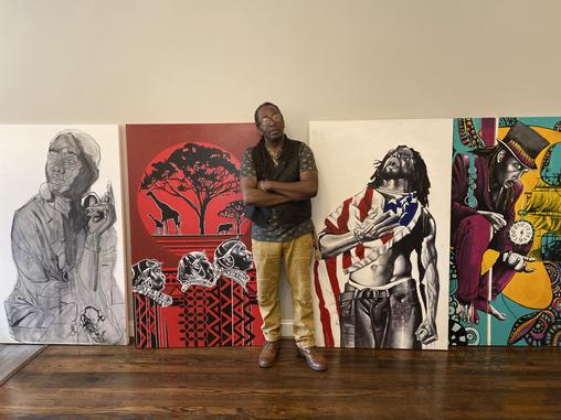 RVA Artist Finds His Dream Home