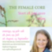 THE FEMALE CORE Start 28.Juni 2020 onlin