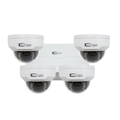 Eclipse 4MP 4 Camera HD IP System with 8ch NVR