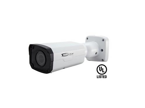 Eclipse 4MP Network IP Bullet Camera - Motozoom, H265, SD Storage