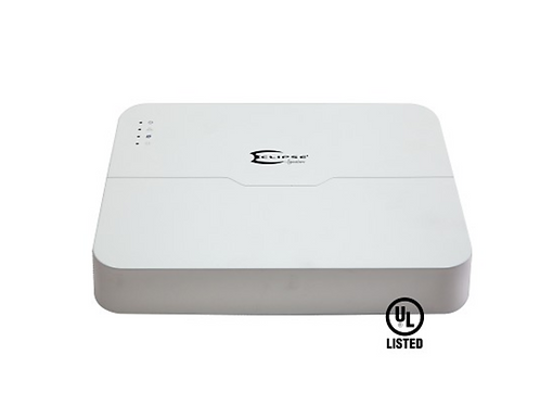 Eclipse 8 Camera Network Video Recorder with POE