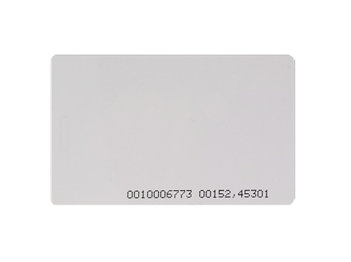 Eclipse ISO standard proximity card 0.75mm