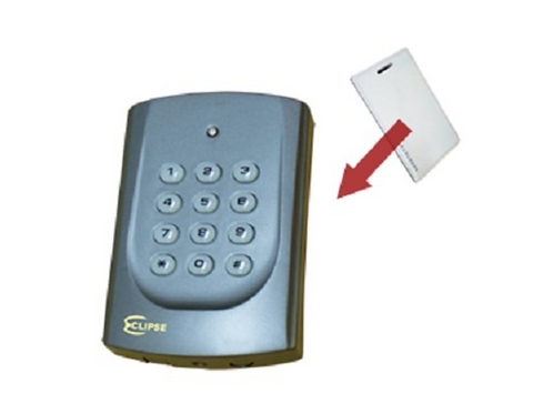 Eclipse Proximity Card Reader with Keypad, Buzzer & LED