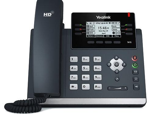 YEALINK SIP-T40G IP PHONE w/PS