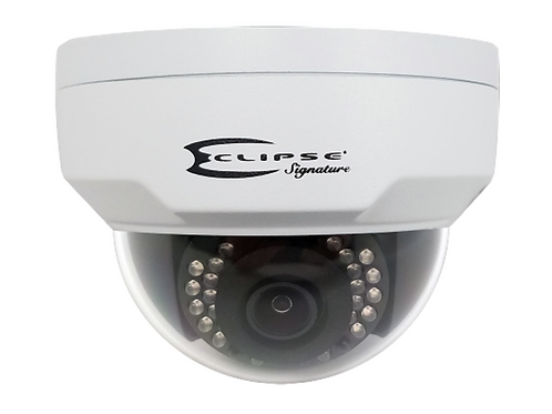 Eclipse 4MP WDR Vandal-resistant Network IR Fixed Dome Camera, H265