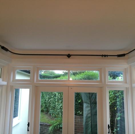 Hand Forged Curtain Rail