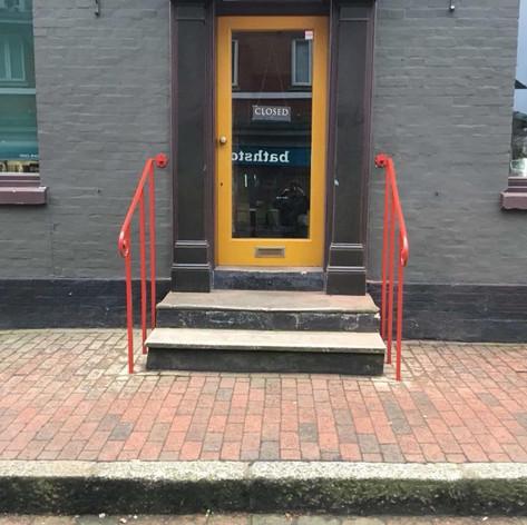 Exterior Shop Handrail