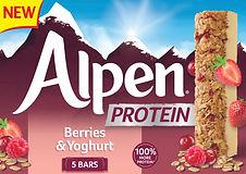 Alpen Protein Berries  Yoghurt 170g high