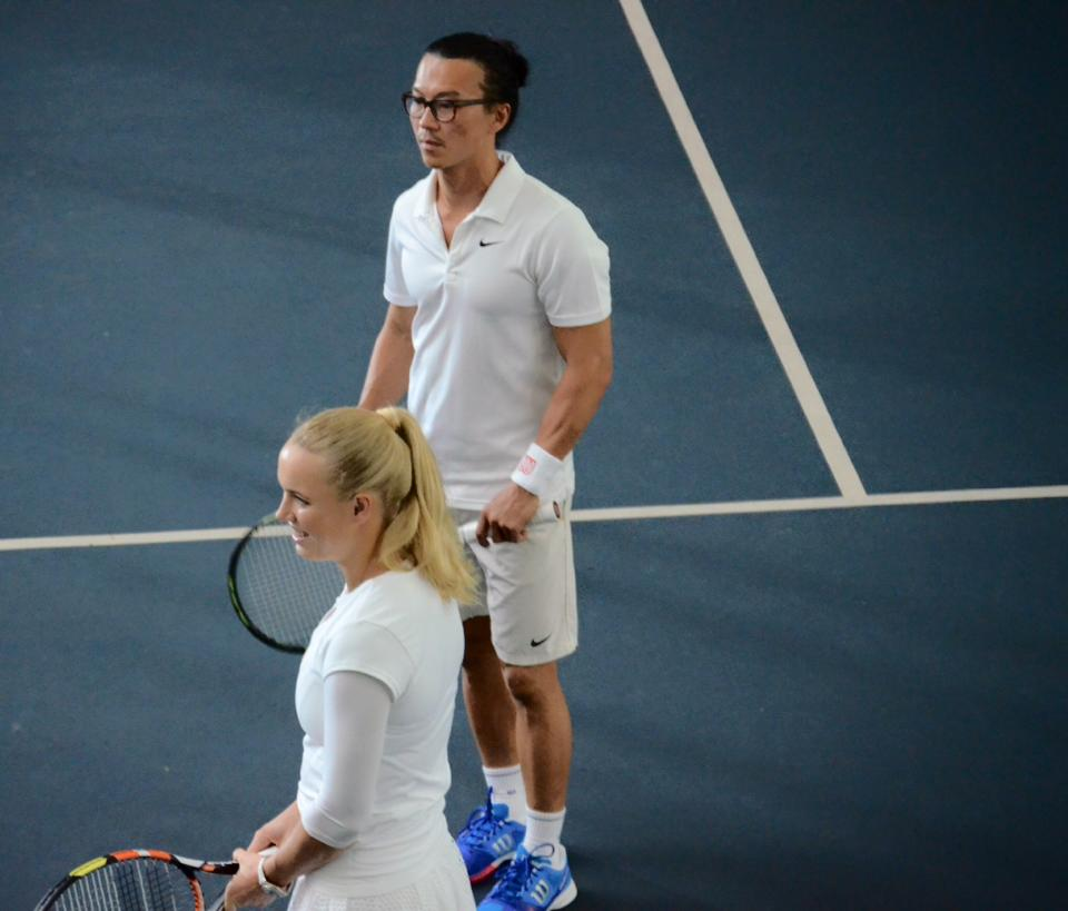 Coaching with Caroline Wozniacki