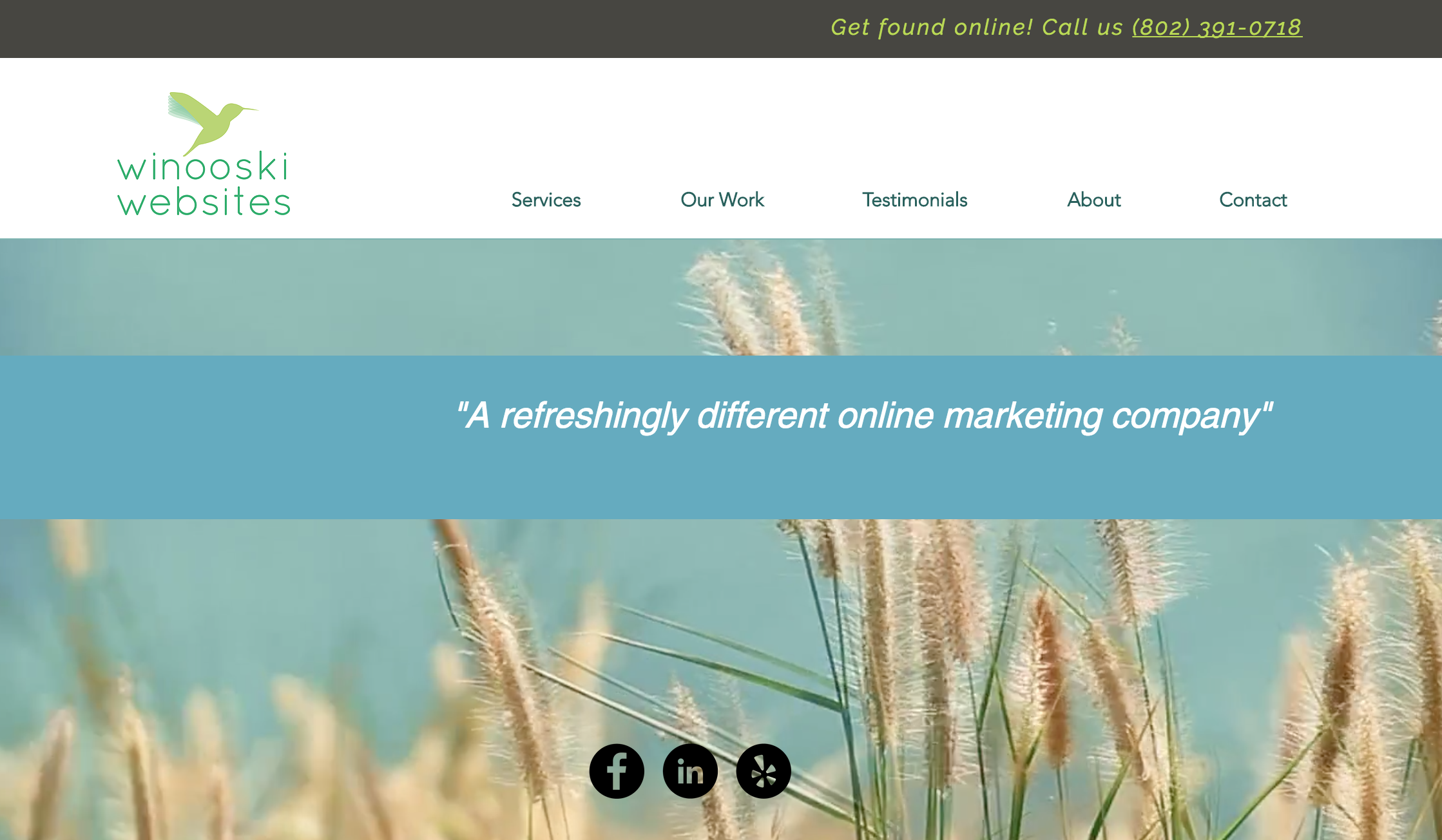 Winooski Websites | Web design & online marketing for small businesses